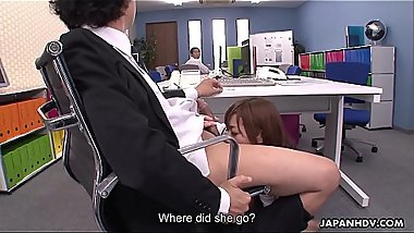 Engsub Aiko Endou had an interesting day at work (film1-18.11 part 1) Full HD1080 at https://za.gl/SpfM