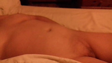 Wife in bed naked