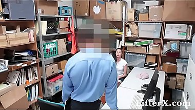 Shoplyfter Teen Compromises Her Pussy For The Things She Stole - LifterX.com