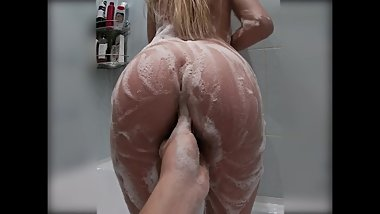 TIGHT 18 YEARS OLD BLONDE GIRL FUCKED IN THE SHOWER- MARKKORA