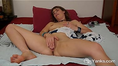 Yanks Leah Star'_s Toe Curling Rubbing Fingers