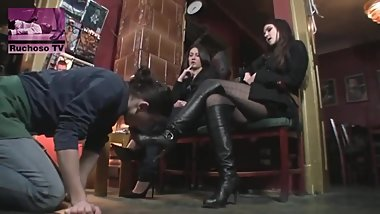 cruels mistress humilate a slave - HD