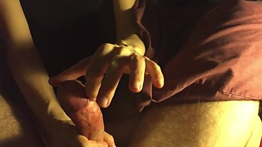 Lustfulife - Wet cock massage , with gentle milking and cum on hands