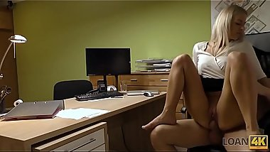 LOAN4K. It is not a porn casting but amateur should fuck loan agent