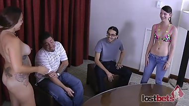347-Strip-Blackjack-with-Angel-and-Lance-vs-Xzavier-and-Kandii-HD