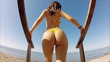BellaBrookz Date on the Beach HD GoPro