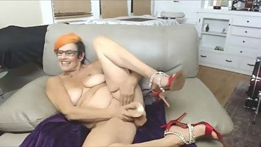 grandma is ready to tickle your fantasy