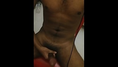 Oiled up cock ready for some tight asshole