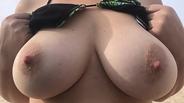 Titties at the Beach