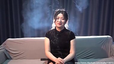 asia ziying's smoking interview 1 HD
