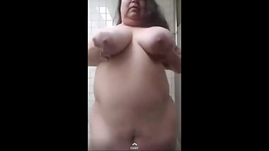 Loves2show naked in the bathroom