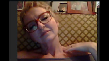 Hot Hungarian Mature on Skype