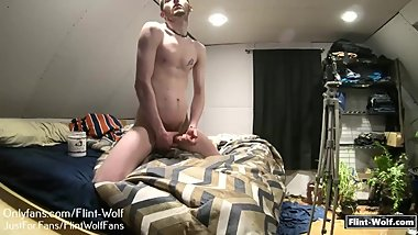 Flint Wolf Ultimate HD daily Cum Challenge day 33 cum 3