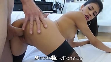 Exotic4k Big dick stretches out dripping latin pussy Veronica Rodriguez