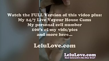 Lelu Love-VLOG: BTS Photoshoot And Sex Vid