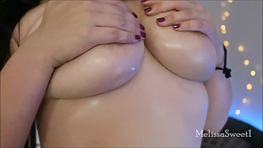 Big Oiled Tits in HD