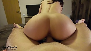 FIT TEEN FUCKED BY BIG DICK - 4K POV