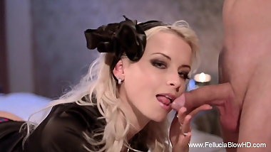Hand and Blowjob Special Girl